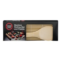 Baycliff Company Sushi Chef Bamboo Rolling Mat and Paddle - 1 CT