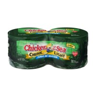 Chicken of the Sea Chunk Light Tuna in Water - 4 CT