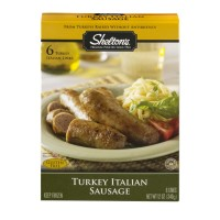 Sheltons Turkey Italian Sausage Links - 6 CT