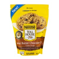 Nestle Toll House Frozen Cookie Dough - Peanut Butter Chocolate Chip - 18 OZ