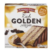 Pepperide Farm Rich Golden Layer Cake - 19.6 OZ