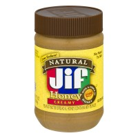 Jif Natural Honey Peanut Butter Creamy - 16.0 OZ