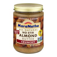MaraNatha All Natural No Stir Almond Butter Crunchy - 12.0 OZ