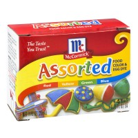 McCormick Assorted Food Color And Egg Dye - 4 CT