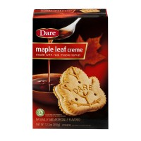 Dare Cookies Maple Leaf Creme - 12.3 OZ