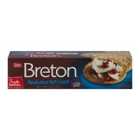 Breton Reduced Fat And Salt Crackers - 8.0 OZ