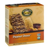 Nature's Path Organic Peanut Choco Chewy Granola Bars - 5 CT