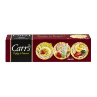 Carr's Poppy & Sesame Thin Savoury Crackers 6.5 OZ
