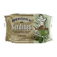 Brunswick Sardines in Olive Oil 3.75 OZ