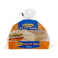 Rhodes Bake N Serve White Bread Loaves - 3 CT / 3 LBS