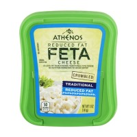 Athenos Feta Cheese Traditional Reduced Fat 5 OZ