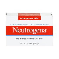 Neutrogena Acne-Prone Skin Transparent Facial Bar - 3.5 OZ