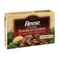 Reese Smoked Oysters - Colossal/Large 3.7 OZ