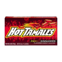 Hot Tamales Chewy Candies Fierce Cinnamon - 5 OZ