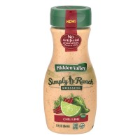 Hidden Valley Simply Ranch Dressing Chili Lime - 12.0 OZ