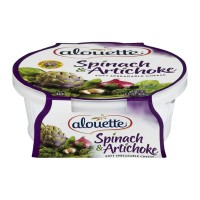 Alouette Soft Spreadable Cheese - Spinach & Artichoke 6.5 OZ