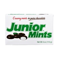 Junior Mints - Creamy Mints in Pure Chocolate 4 OZ