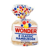 Wonder Classic Hamburger Buns - 8 CT / 12.0 OZ
