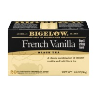 Bigelow Black Tea - French Vanilla - 20 CT 1.28 OZ