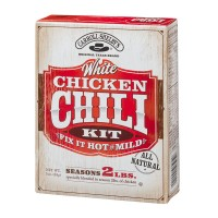 Carroll Shelby's White Chicken Chili Kit Hot Or Mild - 3.0 OZ