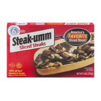 Steak-Umm Sliced Steaks - 6 CT / 9 OZ