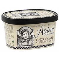 Alden's Organic Chocolate Chocolate Chip Ice Cream 1.5 Qts
