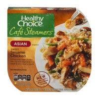 Healthy Choice Cafe Steamers - Asian - Sweet Sesame Chicken - 9.75 OZ