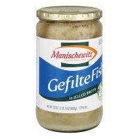 Manischewitz Gefilte Fish in Jelled Broth - 24.0 FL OZ