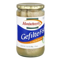 Manischewitz Gefilte Fish in Liquid Broth - 24.0 FL OZ