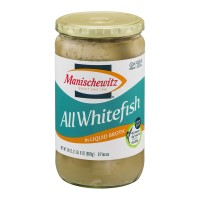 Manischewitz All Whitefish Pieces in Liquid Broth - 24.0 FL OZ