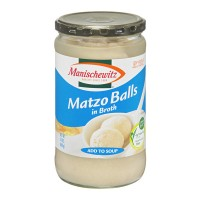 Manischewitz Matzo Balls in Broth - 24.0 OZ