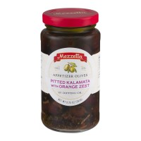 Mezzetta Appetizer Olives Pitted Kalamata with Orange Zest - 9.25 OZ