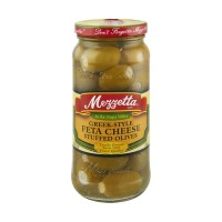 Mezzetta (Green) Greek-Style Feta Cheese Stuffed Olives 9.5 OZ