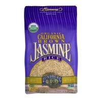 Lundberg Organic California Jasmine Rice Brown - 32.0 OZ