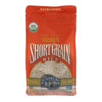 Lundberg Organic Brown Short Grain Rice - 32 OZ