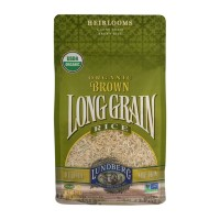 Lundberg Organic Brown Long Grain Rice - 32 OZ