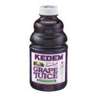Kedem Grape Juice with No Sugar Added - 32.0 FL OZ