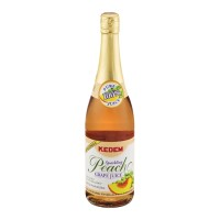 Kedem Grape Juice Sparkling Peach - 25.4 FL OZ