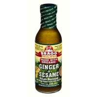Bragg Salad Dressing - Ginger And Sesame with Organic Oil - 12.0 FL OZ
