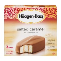 Haagen-Dazs Ice Cream Bars - Salted Caramel - 3 CT / 9 FL OZ