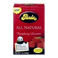Panda All Natural Raspberry Licorice 7 OZ