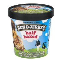 Ben and Jerry's Ice Cream - Half Baked 1 PT