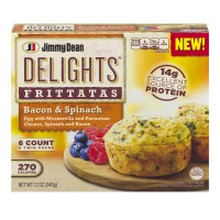 Jimmy Dean Delights Frittatas Bacon And Spinach - 6 CT / 12.0 OZ