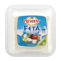 President Feta Cheese - Chunk 8 OZ