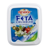 President Feta Cheese - Crumbled 6 OZ