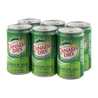 Canada Dry Ginger Ale - 6 CT / 7.5 FL OZ