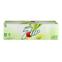 7-Up Caffeine Free DIET - 12 CT / 12.0 FL OZ