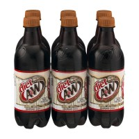A&W Root Beer DIET - 6 CT / 16.9 FL OZ