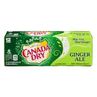 Canada Dry Ginger Ale - 12 CT / 12.0 FL OZ