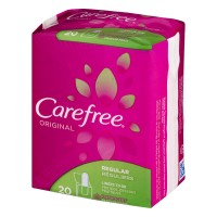 Carefree Original Regular Liners Fresh Scent - 20 CT